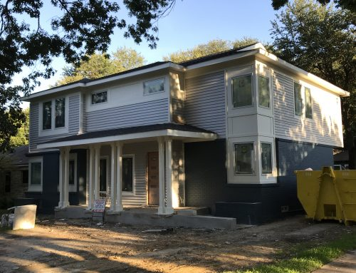 Chakraborty Residence Addition nearing Completion